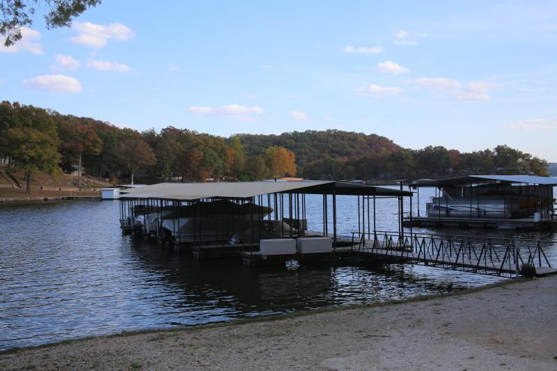 dock and fishing area
