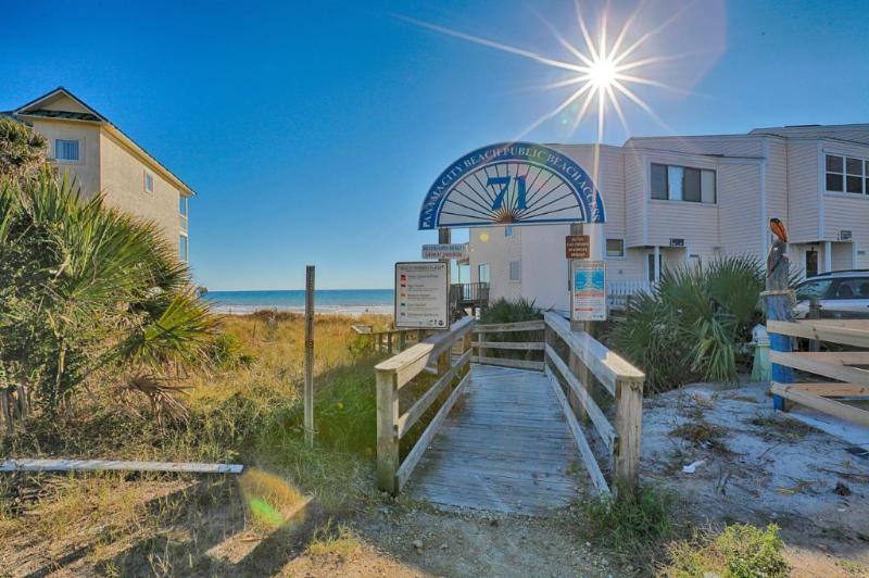 Access Point sulla spiaggia