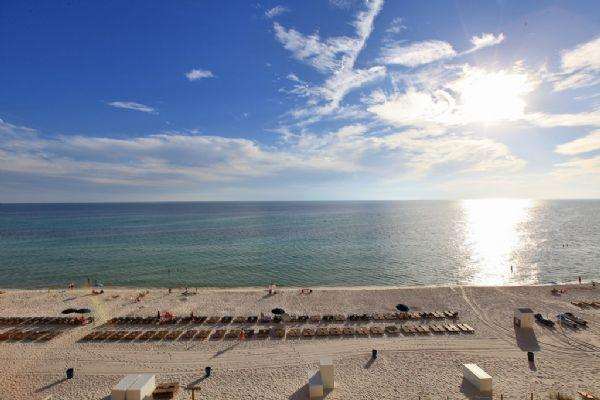 Spectacular Balcony Views of The Beach & Gulf