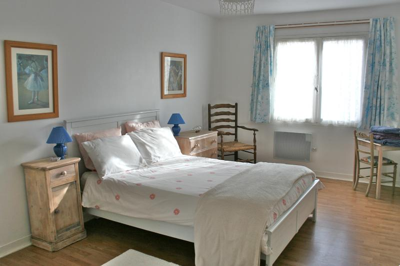 The parents bedroom, on the first floor