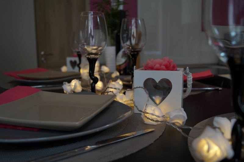 Pour un repas en amoureux