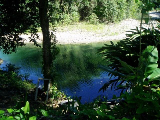swim in the fresh waters of Munoz River