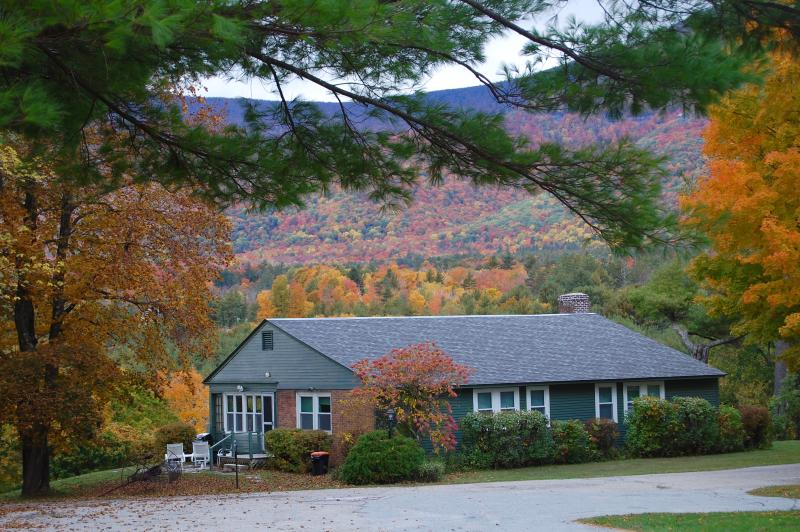 Fall at the Innkeepers cottage, surrounded by breathtaking views and colors