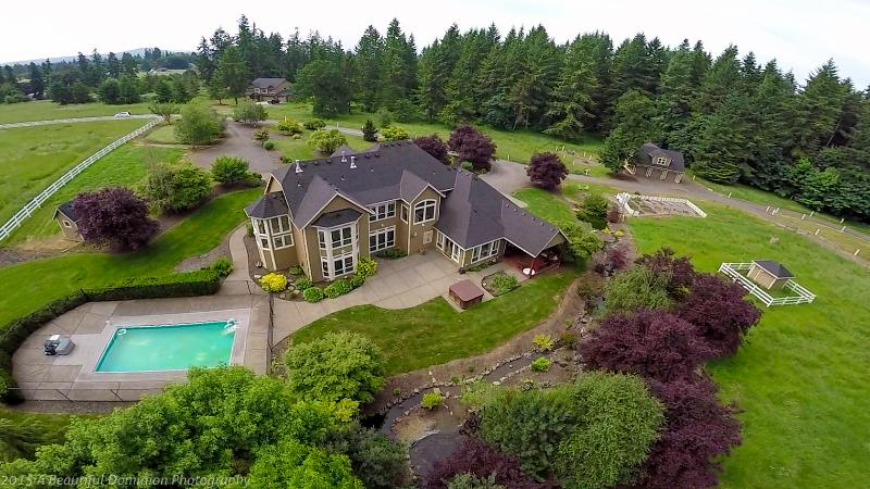 Gorgeous French Country Home on 5+ private, gated/fenced acres