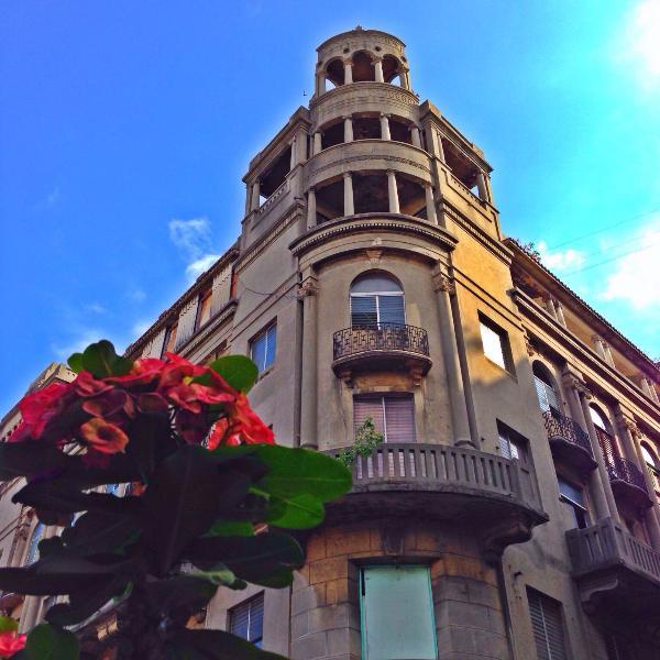 Building at 'El Conde'