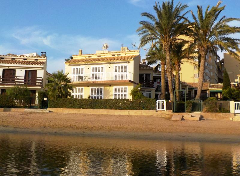 The villa, step out of your terrace onto the beach