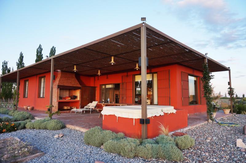 Casa quinta en pleno viñedo, alquiler de vacaciones en San Rafael