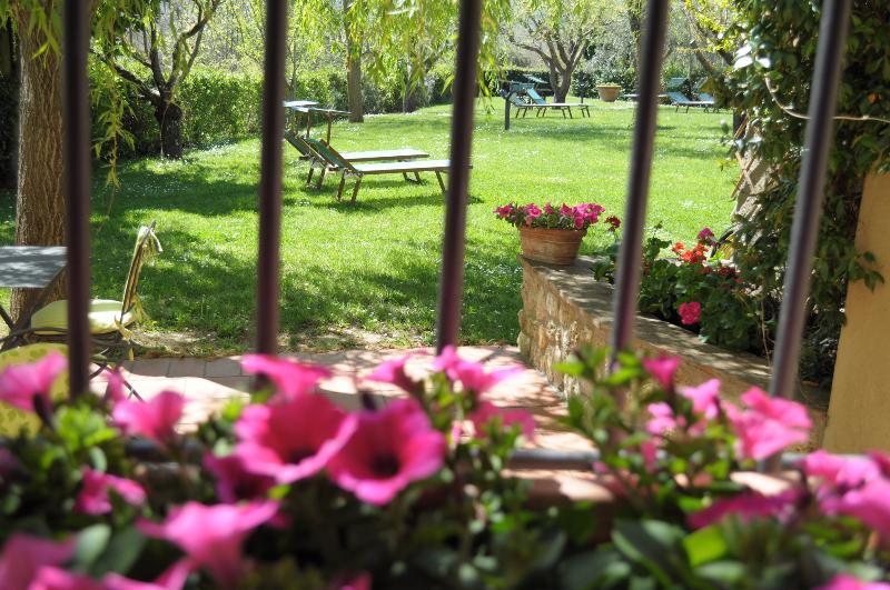 Bed and Breakfast 'IL Casolare di Libbiano' - vista giardino