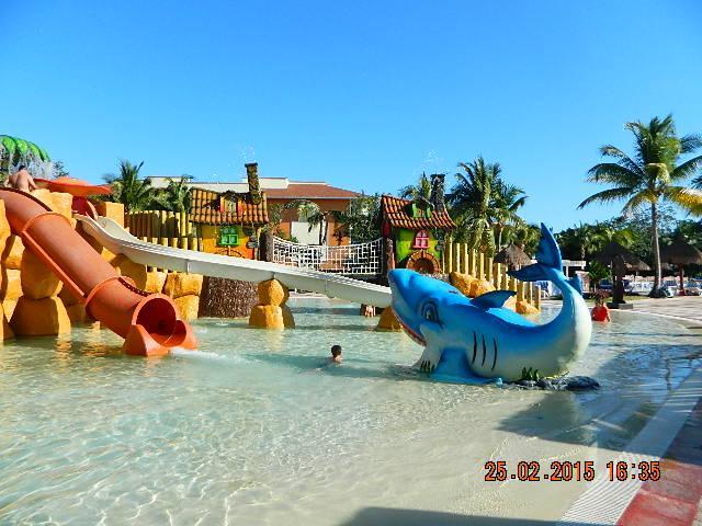 piscine pour enfants dans le complexe