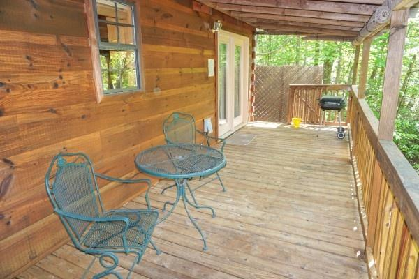 Deck at Seclusion