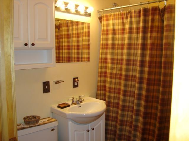 Full bath with tub/shower
