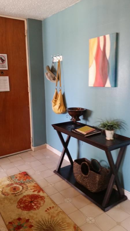 Entryway - staging area for beach excursions