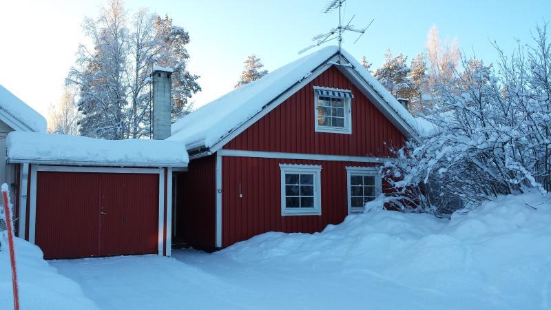 Villa Rosella en la nieve