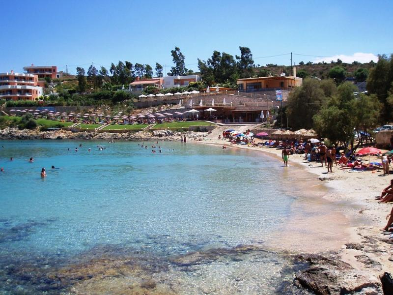 Loutraki Beach - 100m away from the villa