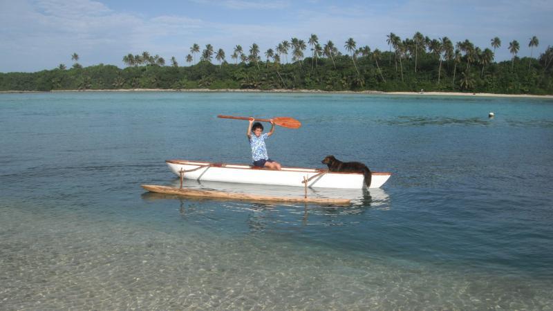 Vaka significa barco en maorí. Esto es nuestro.