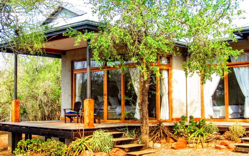 Chumbi Bush House - Hluhluwe, South Africa, casa vacanza a Zululand