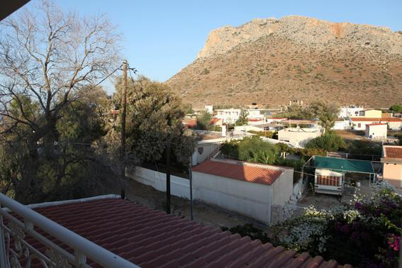 Mountain view from bedroom 3