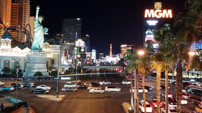 Vegas Strip only 3 miles away - there is bus transportation or park in the casino garages
