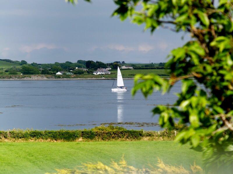 View from Seal Cabin overlooking Strangford lough