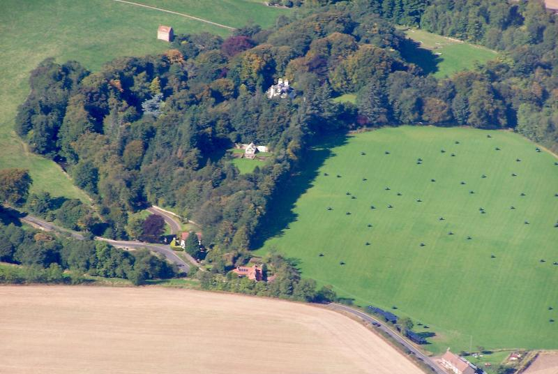 FALSIDE SMIDDY from the air
