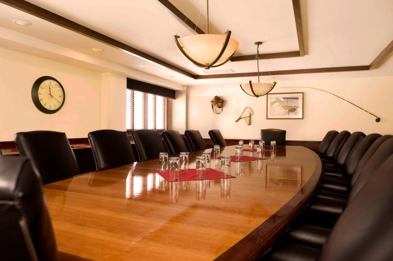 There is also a business center for your business meetings located in the Shoshone building.