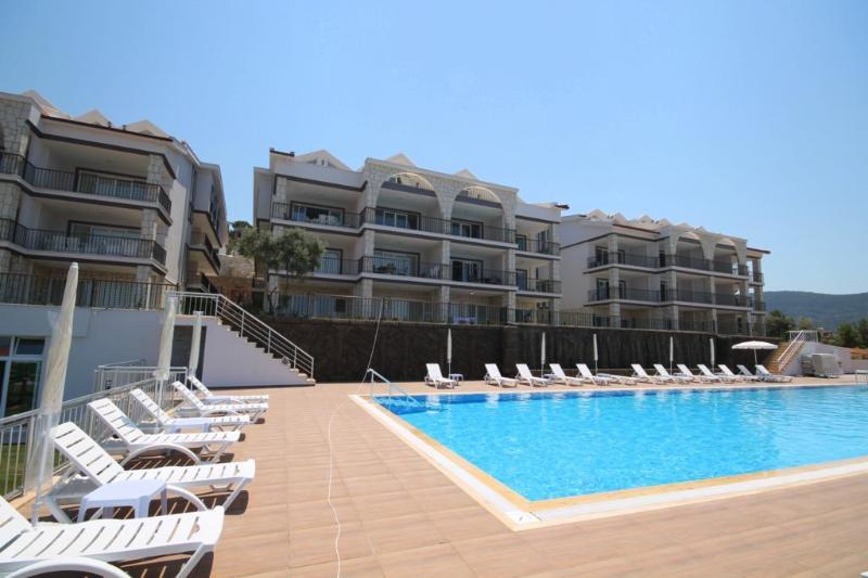 Luxe duplex appartement met panoramisch zeezicht, vacation rental in Akbuk