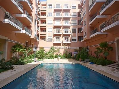 Bel appt. face au jardin de majorelle, vacation rental in Marrakech
