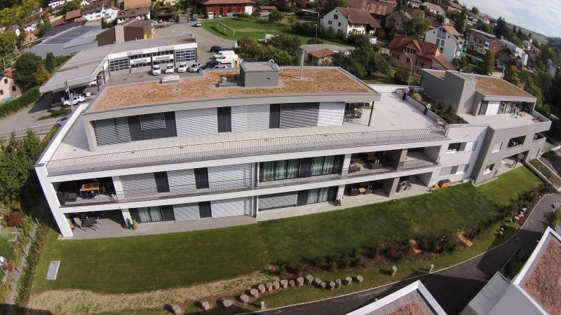 House from bird's eye view