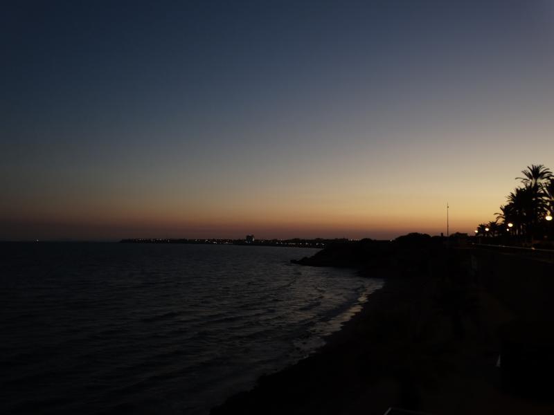 Punta Prima at November night