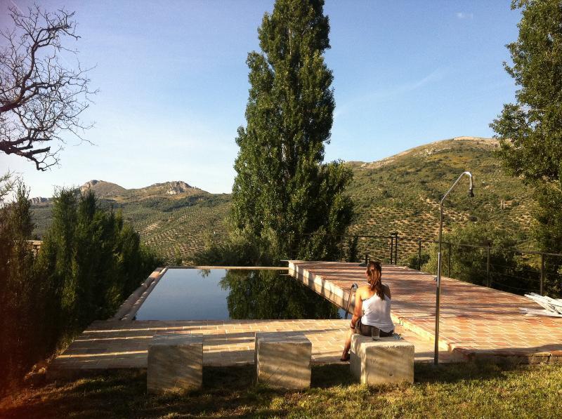 Pool, autumn