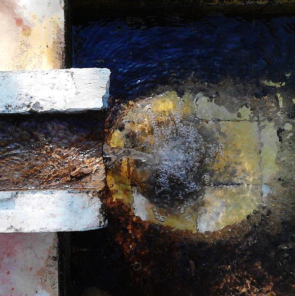 Detail acequia