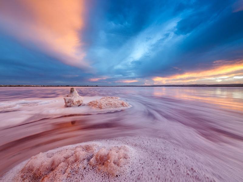 Salt Lake of La Mata (Salinas)
