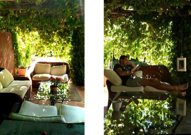 Porch, summer