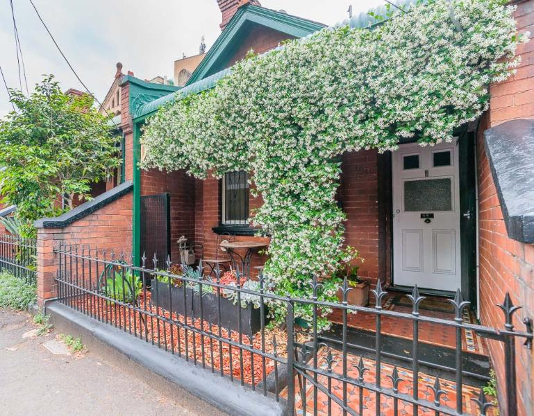 Allawah Cottage is part of a Victorian listed terrace