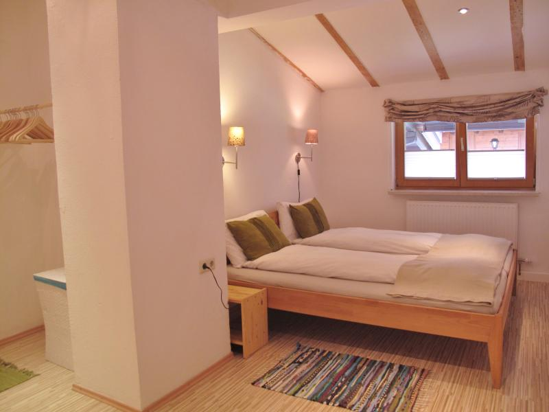 Lovely large and quiet master bedroom with dressing area. Plenty of room for a cot if required.