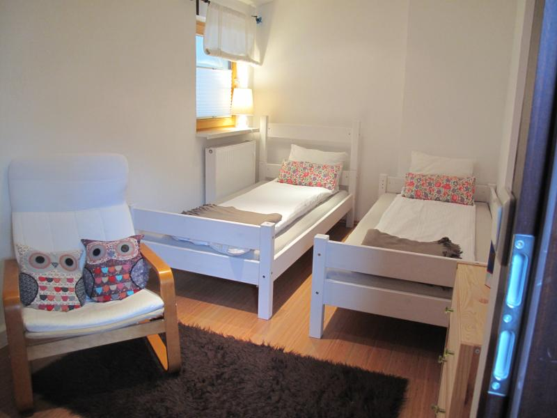 Bunks can be split into two seperate single beds on request.
