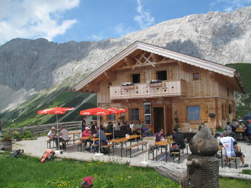 or walk up to Alpine huts for hearty food and beer.