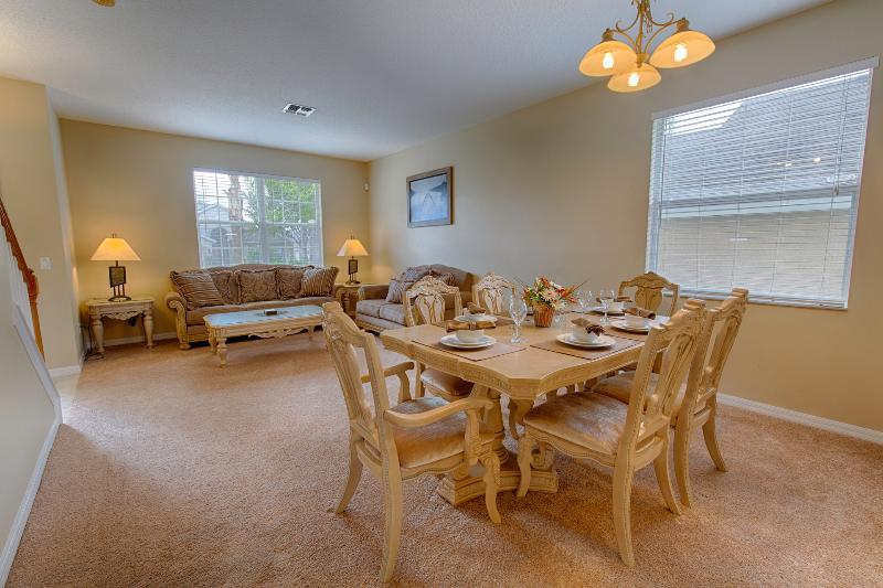 Formal living dining room