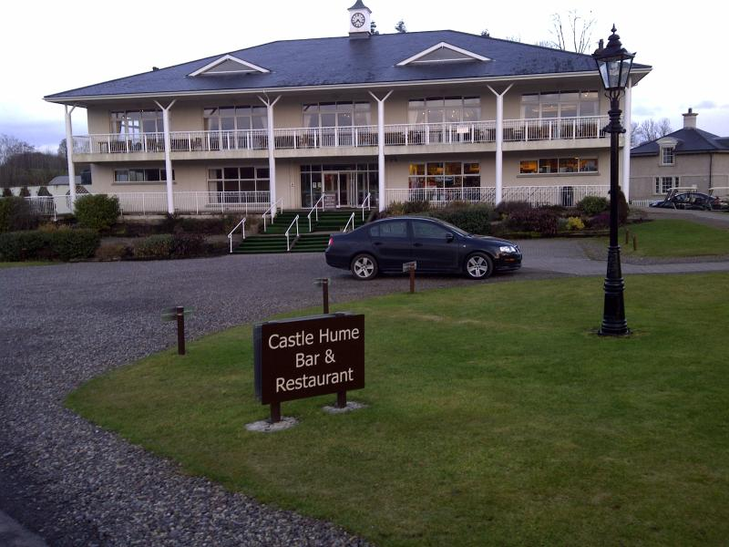 Castle Hume Golf Course On Site - great place to eat. Preferred Golf Rates apply when staying here.