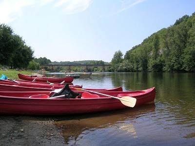 the Dordogne river at Le Buisson de Cadouin