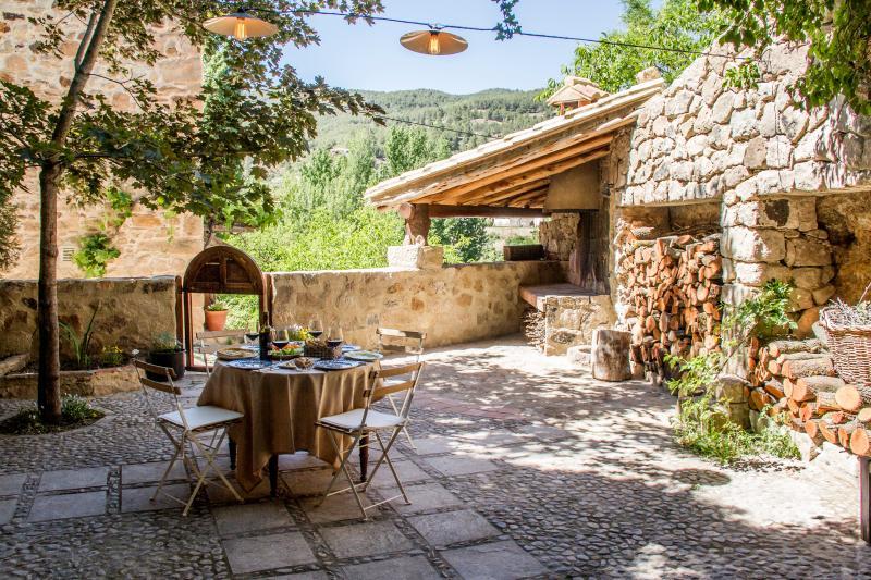 Casa rural con encanto en Olba junto al río, casa vacanza a Puertomingalvo