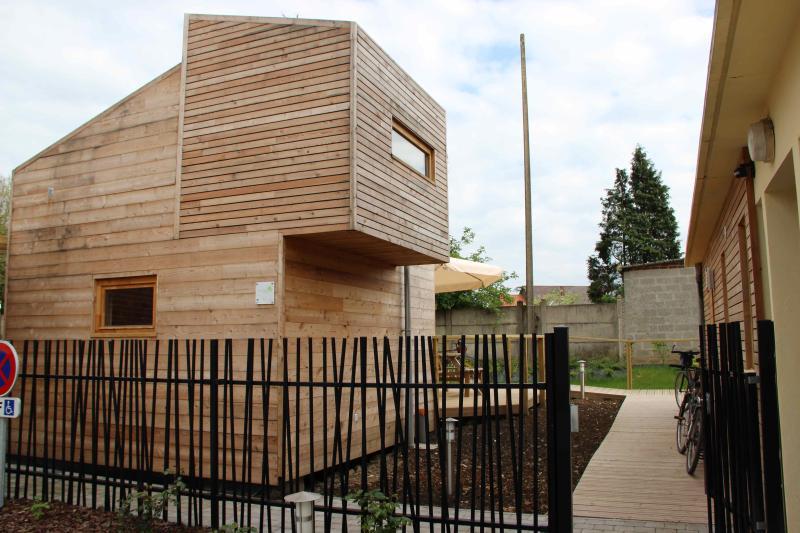 Ecolodge Azur à Fiefs, casa vacanza a Saint-Pol-sur-Ternoise