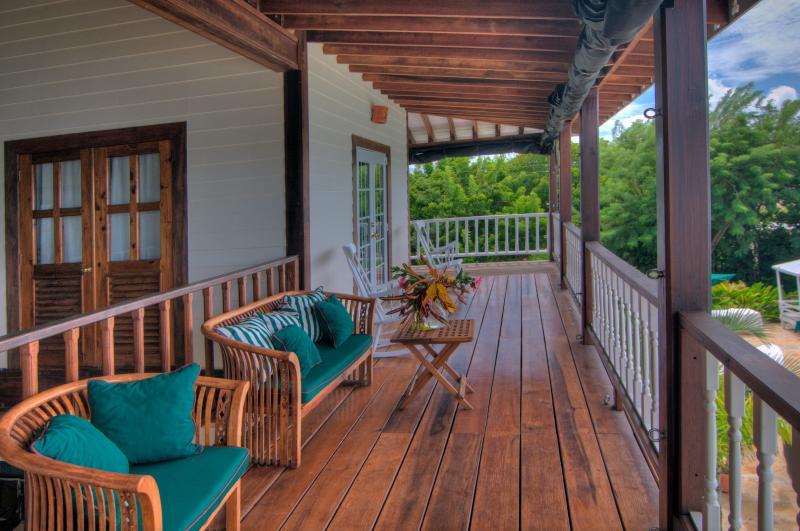 Second level veranda