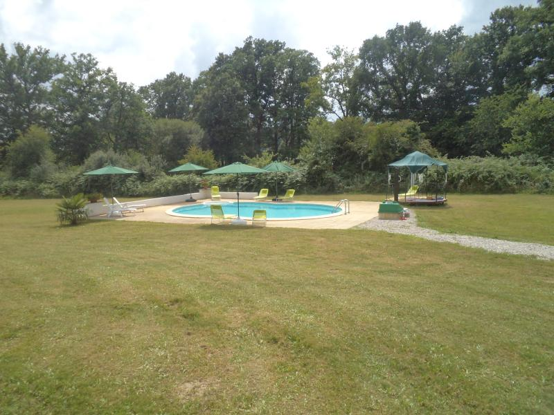 Pool area with Gazebo