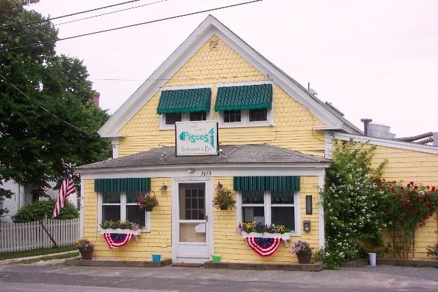 Pisces Restaurant är bara 0,8 mil bort! - Chatham Cape Cod New England Semesterbostäder