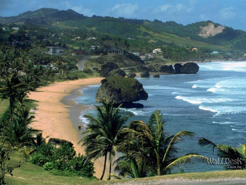 Bathsheba Atlantic side of island
