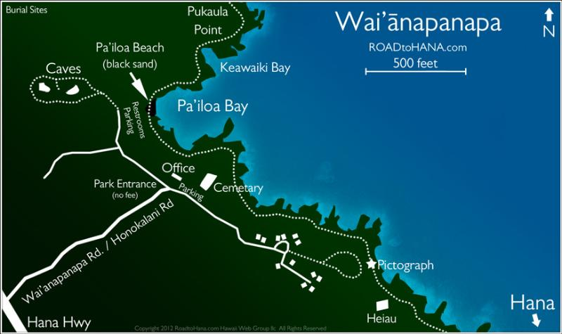 Hana Camping Under The Stars Has Parking And Waterfront