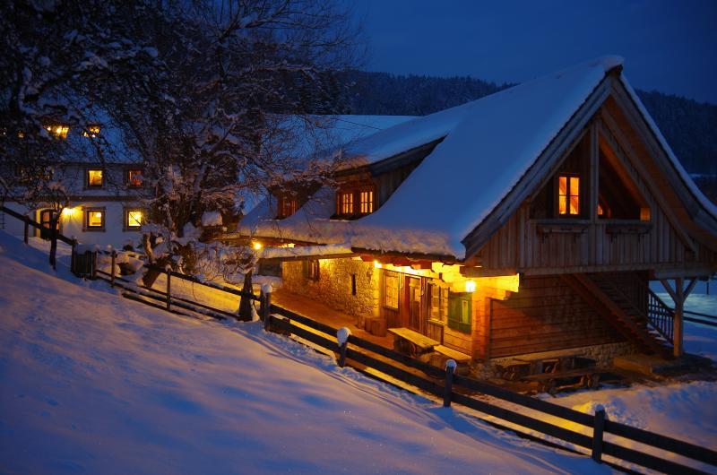 Die Ferienwohnungen in der alten Schmiede sind Teil des Ferienguts Moarhof