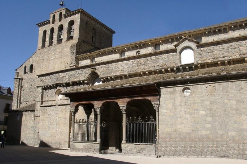 Catedral de Jaca. Joya del Románico español del siglo XI.
