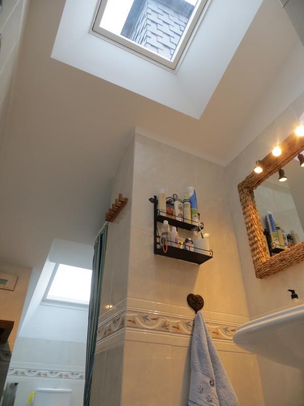 Segundo baño con dos grandes velux que le proporcionan  mucha luz natural.